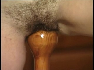 Close up Hairy Insertion