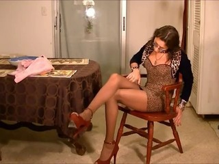 Shemale Vennessa in Pantyhose 2