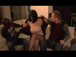 Clara, French Mature Gangbanged
