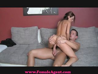 Femaleagent. Accidental Casting Creampie