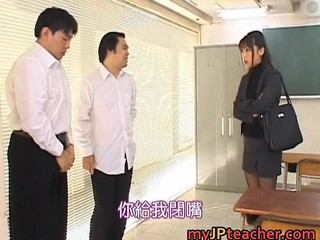 Bunko Kanazawa Naughty Asian Teacher Part4