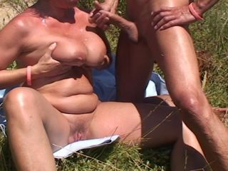 Beach Big Tits Cumshot Mature Outdoor