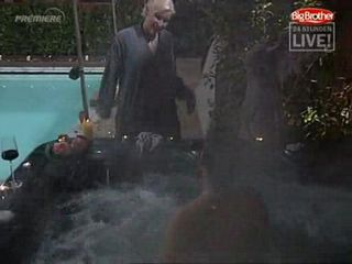 Big brother, sex in pool