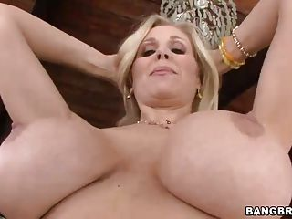 Mommy Likes Huge Dildos