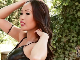 Asian Bombshell Danika In Black...
