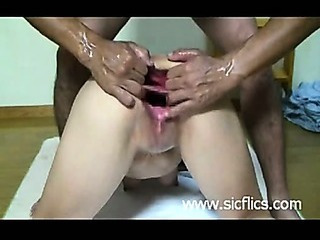 Brutal Double Anal And Vaginal F...