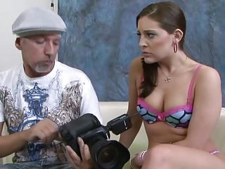 Gracie Glam Is Stretched By A Hu...
