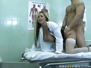 Mega Busty Doctor Done Doggy Sty...