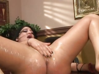 Britney Stephens is fucked and frigged until she squirts...
