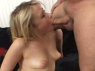Young Blonde Pussy For Daddy's Cock Furious Fuck