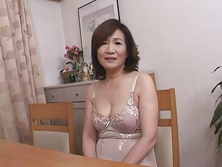 Masturbating Japanese Gran Part1