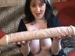 Amateur Big Tits Brunette Dildo French Mature