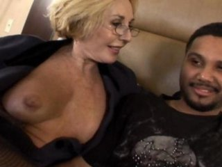 sexy mature milf gets banged by black cock