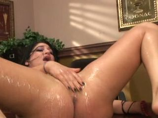 Britney Stephens is fucked and frigged until she squirts her pussy juices