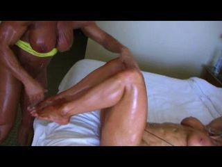 Bodybuilders Lisa and Wanda Lesbian Love Part 4