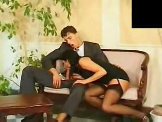 Blowjob Clothed Stockings
