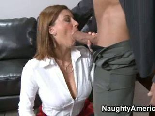 Horny office bitch Sara Stone...