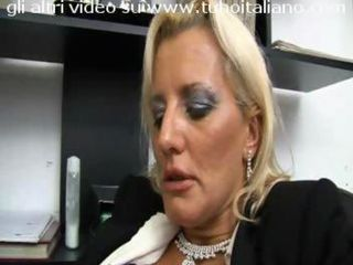 European Italian Mature Office Secretary