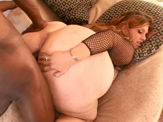 horny hottesttie banged by a big black cock