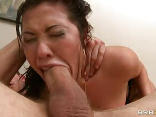 Annoying Asian Police Lady London Keyes Gets Fucked With No Mercy By B...