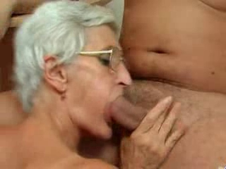 Silver 80 Year Old Gran Loves...