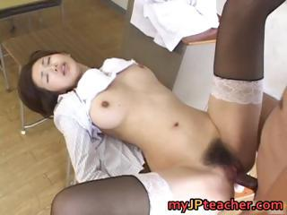 Mai Hanano Sexy Japanese Teacher...