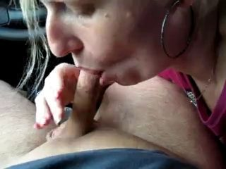Amateur Blowjob Car Small cock Wife