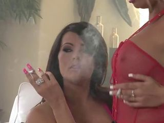 Two gorgeous smokers