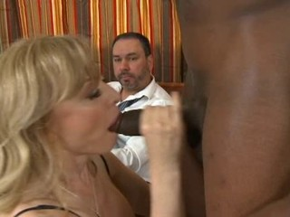 Blonde Blowjob Cuckold Handjob Interracial MILF Pornstar