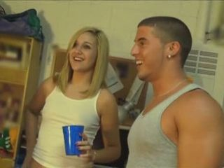 Amateur Blonde Cute Drunk Small Tits Student Teen