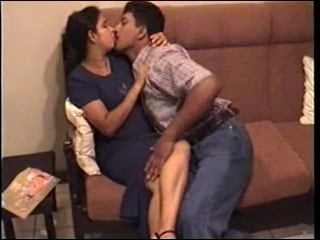 Amateur Hairy Indian Kissing MILF Wife