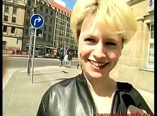 Blonde from the street shows her body _: blondes german softcore