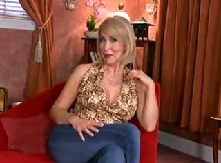 Blonde mature whore gets anal toys and big pecker in her asshole.