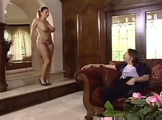 Pussy licking, deepthroating, furious fucking and cumshots on big boobs.