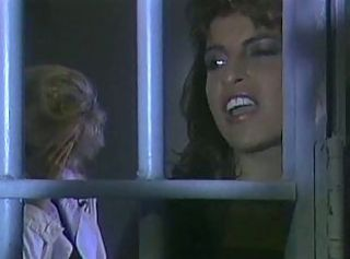 Mad lesbian petting and pussy licking at a prison.
