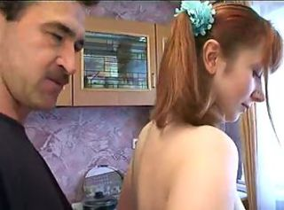 Elder daughter fucked by father and his friend