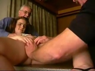 Amateur Cute Old and Young Teen Threesome