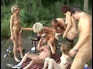 Amateur Hardcore Mom Orgy Outdoor Party Teen