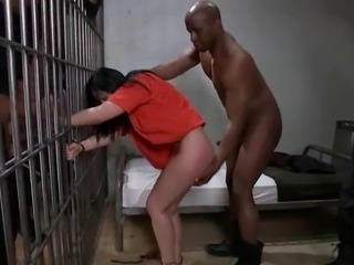 Rough Gangbang in prison
