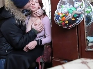 Amateur Chubby Kissing Russian Teen