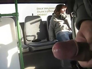 Rus Public Masturb BUS ABUSES Cum GIRL 46 - NV