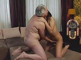 Brunette Cute Old and Young Teen