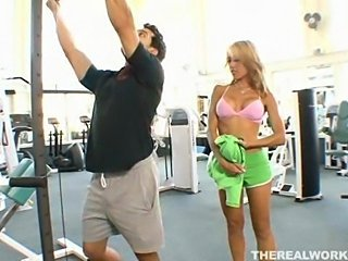 Big Tit Fucked in the Gym