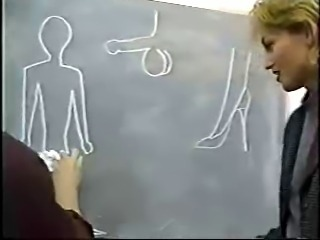 Blonde MILF Russian School Teacher