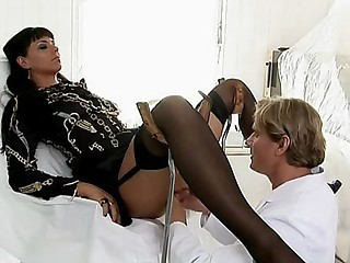 Simone Diamond Fucked at Doctor - Hardcore sex video -