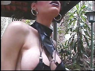 Black Leather Shemale - Shemale sex video -