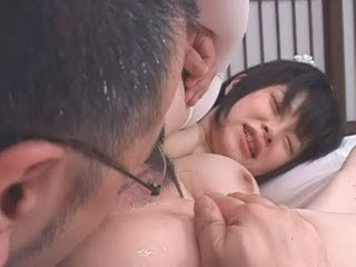 Asian cute young maid & oldman02