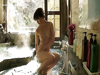 Bathroom Korean MILF Pornstar
