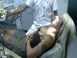 Big Tits Blonde Bus Doctor MILF Pornstar Tattoo Uniform