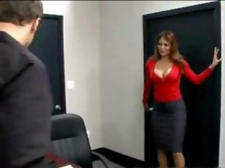 Big Tits MILF Office Pornstar Secretary